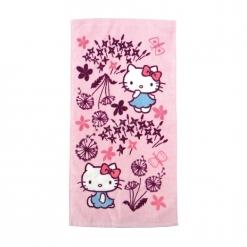 凱蒂貓x印花樂 童巾-蒲公英