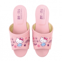 凱蒂貓x印花樂 成人室內拖鞋-蒲公英
