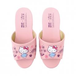 凱蒂貓x印花樂 兒童室內拖鞋-蒲公英