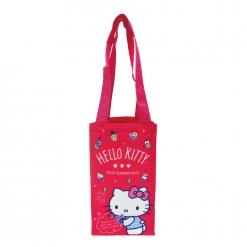 凱蒂貓 飲料提袋-粉