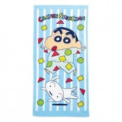 蠟筆小新 浴巾-睡衣派對