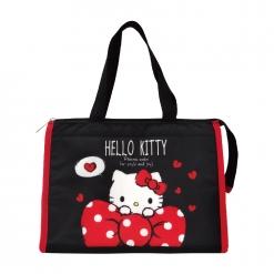 凱蒂貓 方形保溫保冷提袋-愛蝴蝶結