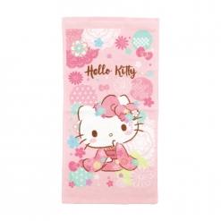 凱蒂貓 童巾-和風櫻花