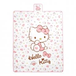 凱蒂貓 野餐墊-愛心