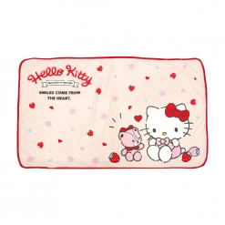 凱蒂貓 涼感浴巾-草莓