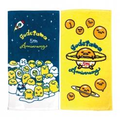 印花毛巾兩款|蛋黃哥