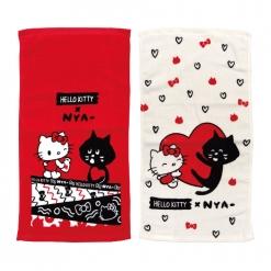 印花毛巾兩款|凱蒂貓 x NYA-