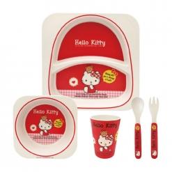 餐具五件組|凱蒂貓-經典款