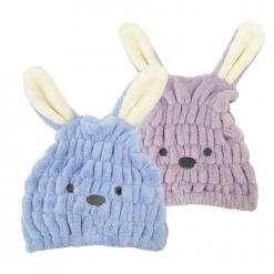 兔子造型快乾擦髮帽|Miine