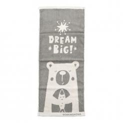 雙色提花毛巾|北歐童趣