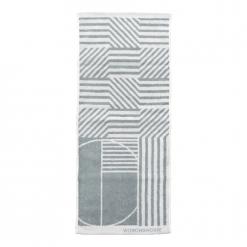 雙色提花毛巾|幾何世界