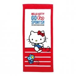 凱蒂貓 愛運動-田徑毛巾|Hello Kitty GO SPORTS