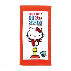凱蒂貓 愛運動-體操童巾|Hello Kitty GO SPORTS